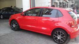 2013 VW Polo 6 1.6 Comfortline Red Color