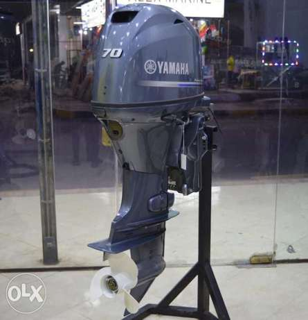 New YAMAHA Outboard 70 HP Four stroke For Sale