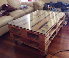 Pallet Coffee Tables for Sale!