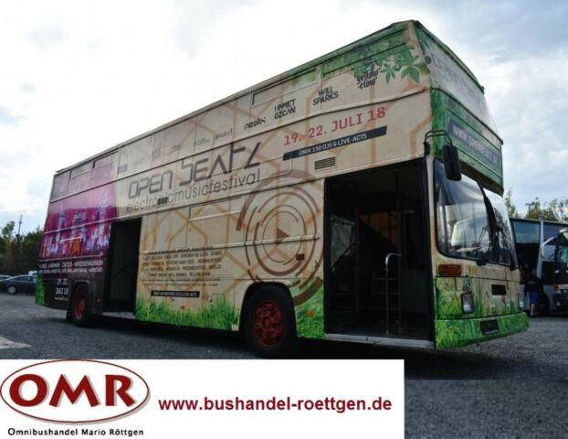 MAN SD 202 Cabrio/Sightseeing/Eventbus/neuer Motor - 1987