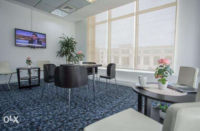 Furnished Office in AL Sadd Rent Starting from 4,000QR