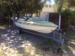 Classic speed boat Cape Town - 60 HP Yamaha Engine bargain sale - Pric
