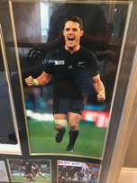 ALL BLACKS signed jersey WORLD CUP 2015