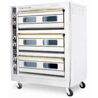 Gas deck oven 6trays