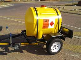 500Litre water tank trailer for sale