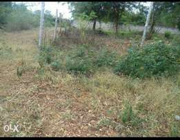 Mtwapa 1/8 of an acre behind tuskys