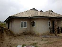 Tastefully built 4 bedrooms bungalow available for sale at Akilapa est