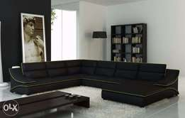 Chic U shaped sofa