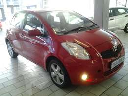 2007 Toyota yaris T3 spirit For sale R77 000