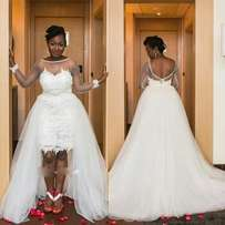 USA wedding gown