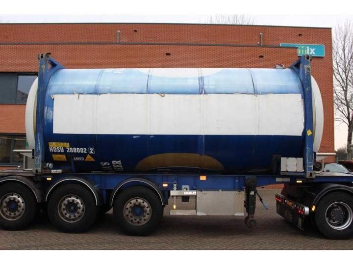 Van Hool 20 ft. 29.000 Liter BIER tankcontainer IMO0 / - 2002