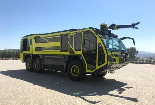 SASIU 6x6 airport fire truck