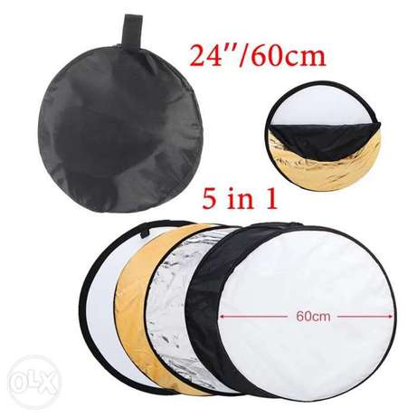 60cm Portable Collapsible Round Camera Lighting equipment Photo Disc R