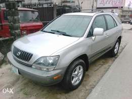 A Lexus RX300 6months used auto drive ac
