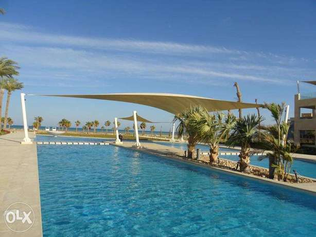 Rent in el gouna apartment with sea view