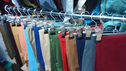 Quality soft Khaki Trousers different colours and sizes available