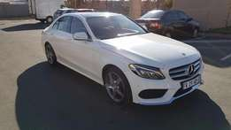 2014 Mercedes benz c250amg with low km for R370,000.00