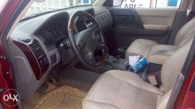 Neat 2002 Mitsubishi Montero For Giveaway Port Harcourt - image 4