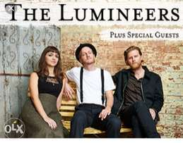2 lumineers tickets cape town