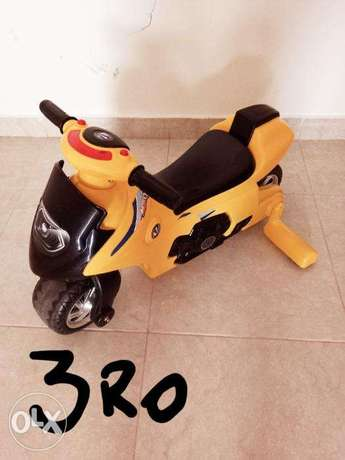 Kids motor non rechargeable,manual