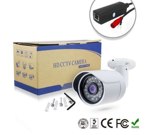 Bullet CCTV IP Network Camera 2.0MP 1080 Pixels (PoE) Nairobi CBD - image 4