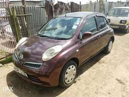 Nissan March new import,wine red. Buy and drive