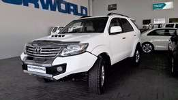 2012 Toyota Fortuner 3.0 D4-D 4x4
