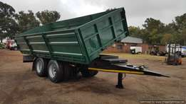 2013 AFRIT Drawbar Tipper Trailer