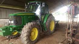John Deere 6620 4WD with logbook in immaculate condition