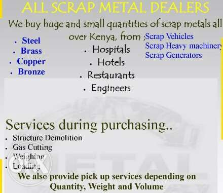 Buying scrap metals and demolition Hurlingham - image 1