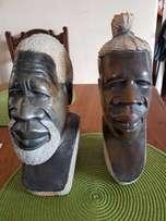 Sculptures male and female from stone R200 for both