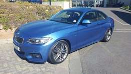 2016 BMW 220d M Sport Auto with 22 000km for only R 465 000.00