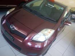 Toyota vitz red wine Fully loaded KCN just arrived