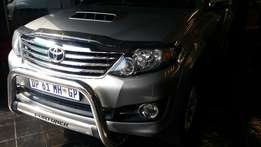2015 Toyota Fortuner 2.5 D-4D Auto, 50 700km for R349 990.00