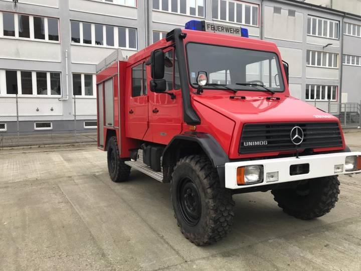 Unimog U140 L Feuerwehr, Fire Truck, Fire Engine