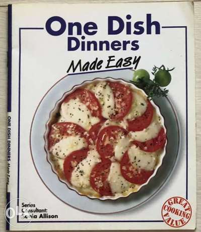 One Dish Dinners Made Easy - New