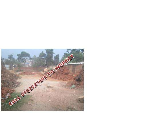 100 BY 100ft plot for sale in Bweyogerere at 60m Wakiso - image 1