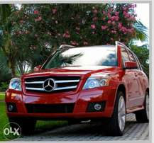 Neatly and very well used Mercedes GLK 2010