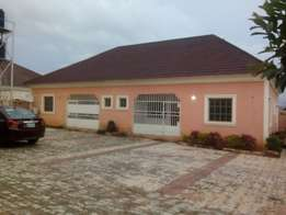 Spacious two bedroom bungalow to let in Cbn estate wumba.