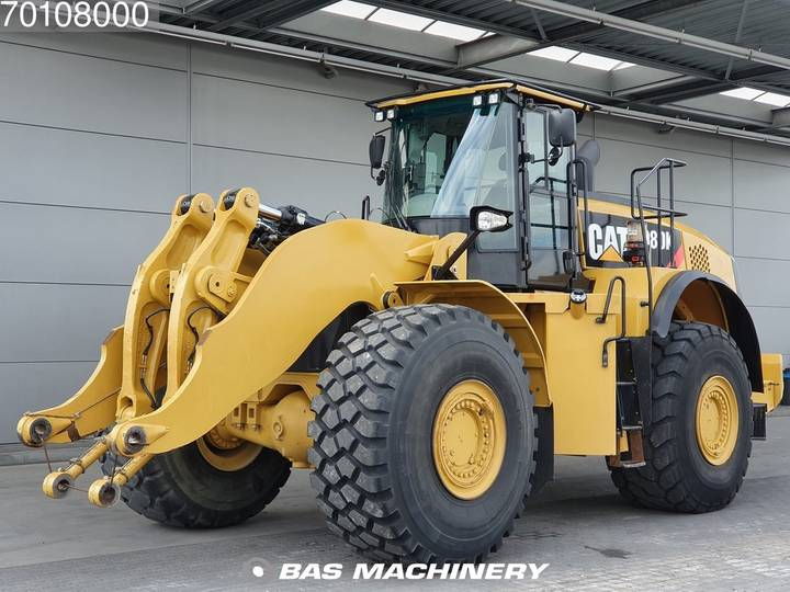 Caterpillar 980K Original paint - with bucket - German machine - 2012