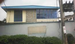 10 Room Fully Detached House at Ikeja - N6m