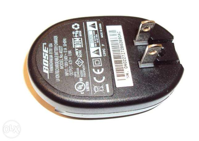 Bose Original Battery Charger 40227 for QuietComfort 3 Headphones
