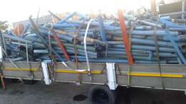 Various size, lengths and types of PVC Pipes for sale