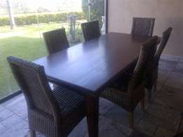 Beautiful table and chairs for sale - R7000