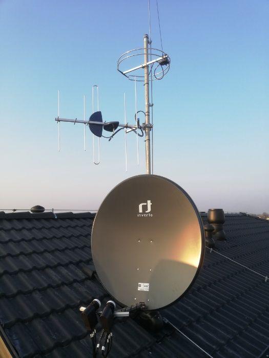 podłącz antenę na dachu