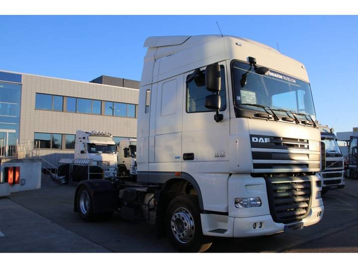 DAF XF105.460 + intarder + manual - 2013