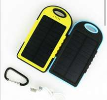 Solar power bank and charger