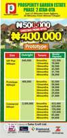 Christmas Promo Estate Land at Attan ota with installment plan
