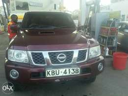 Nissan Patrol Diesel turbocharged 2006 fully loaded with sunroof