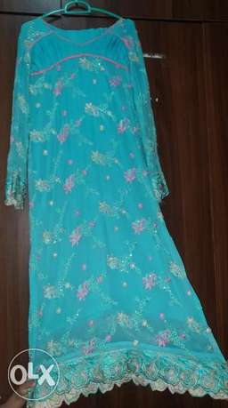 Pakistani embroidered fancy suit